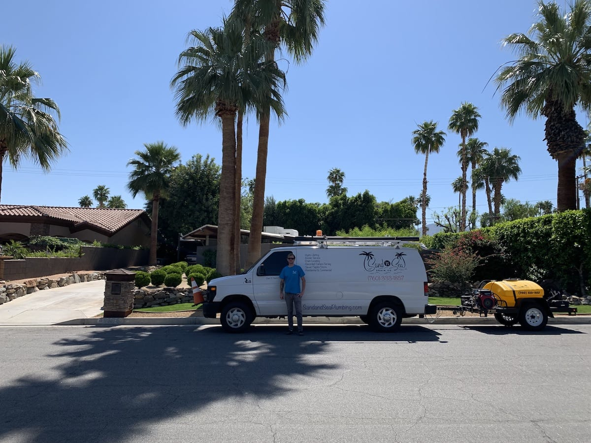 area drain cleaning storm drain cleaning near Palm Springs, palm desert, Rancho Mirage, cathedral city, and the Coachella Valley