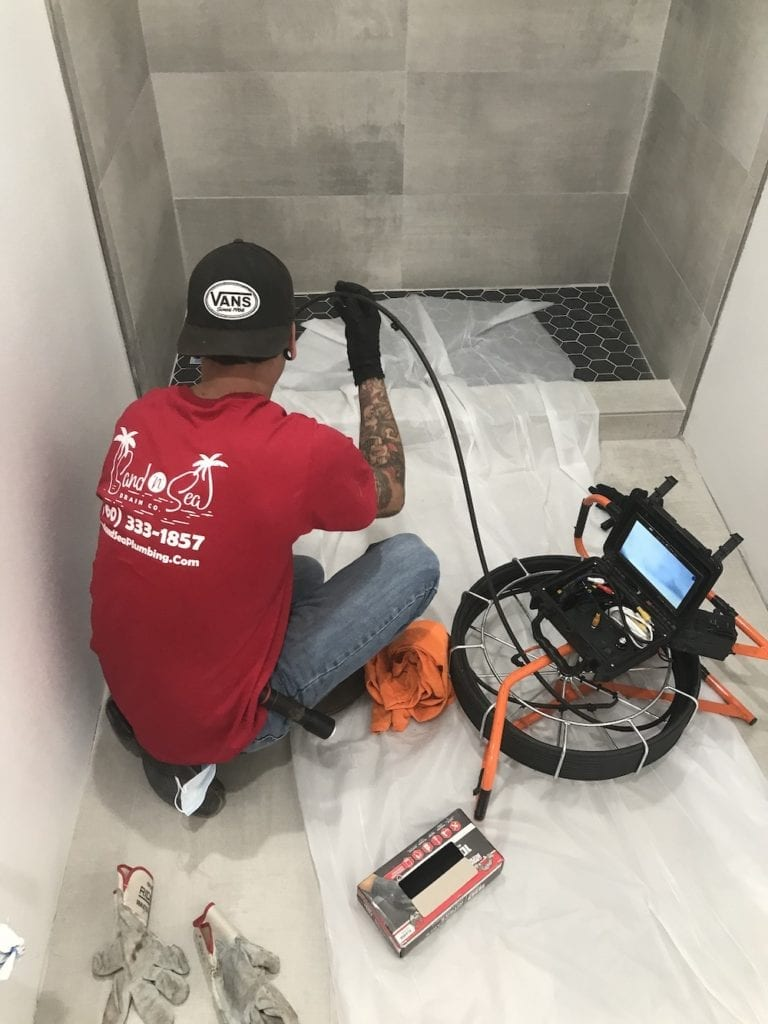 sewer camera inspection in palm springs
